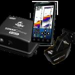 The Vexilar Sonar Phone and T Box.