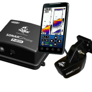 The Vexilar Sonar Phone and T Box.