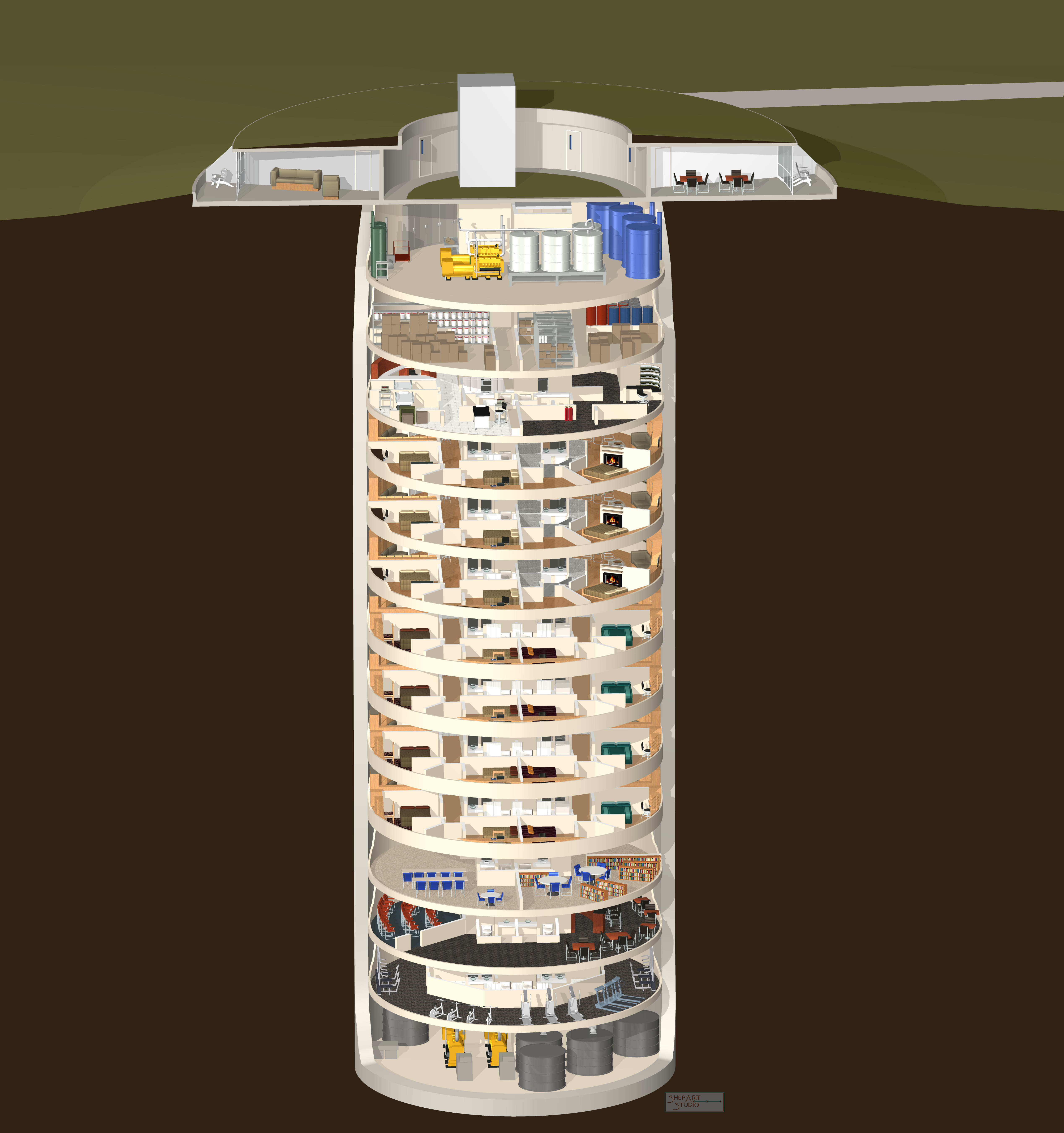 The World S Most Luxurious Quot Survival Condo Quot Is Built