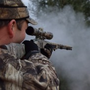 One of the fun things about muzzleloader hunting is the huge smoke cloud you get when you shoot. Of course, seeing where your deer went can be a bit tricky.