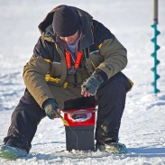 Ice fishing is a rewarding way to net some fish during winter, but always be aware of weather conditions before you hit the ice.