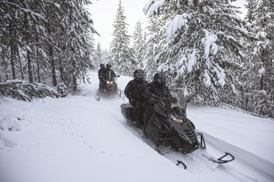 Don't hesitate. Make plans to get out on Michigan's snowmobile trails today!