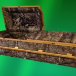 Is everything better when wrapped in camo? Some casket companies are offering camo caskets for devoted hunters.