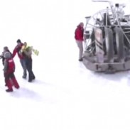 Five anglers were rescued from drifting ice on Lake Winnebago on Sunday after the emergence of a 50-yard break in the ice that separated them from shore.