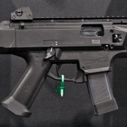 The CZ Scorpion EVO 3 S1 pistol. Image by Edward Osborne.