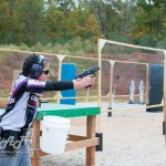 Shyanne Roberts during the 2014 Brownells Lady 3-Gun. Image by ASAP Photography.