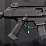 The CZ Scorpion EVO 3 S1 pistol. Image by Edward Osborne.