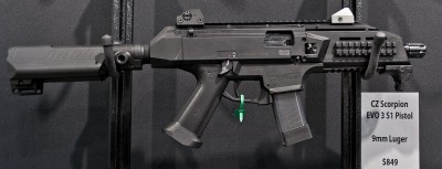 CZ-USA to Being Offering Scorpion EVO 3 and Bren 805 in 2015