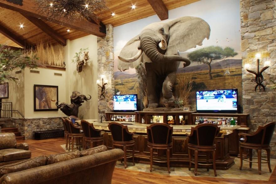 Hunting Trophy Room Design