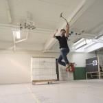 Lars Andersen pulls off some impressive stunts in his newest video.
