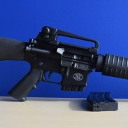 The FN 15 Rifle. Shown with a 10-round mag inserted in the magwell.