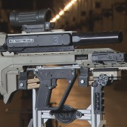 The DRDC's new assault rifle prototype looks like it came straight out of a science fiction film.