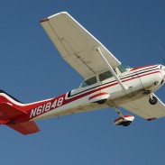 Coast Guard officials say that a Cessna 172, similar to this one, was forced to land near North Island on Thursday.