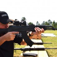 David from DDI with a DDI47. This model has a non-folding polymer stock.