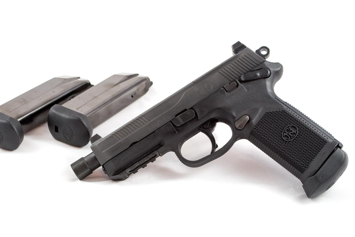 The FNX-45 Tactical.