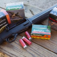We're testing a variety of birdshot sizes to see just how effective the are at indoor distances.