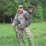Brenda Valentine is a national spokesperson for the National Wild Turkey Federation and a Hall of Fame Turkey Hunter. Image of Brenda Valentine.