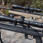 Burris had two of their XTR II 5-25x50mm scopes available for testing at Big 3 East last week.