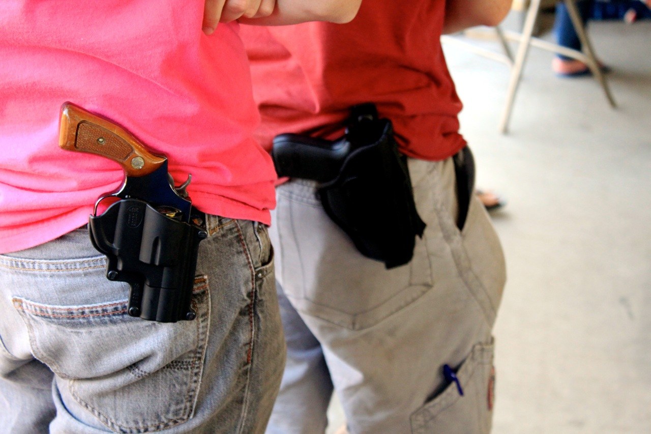 Texas may finally legalize open carry as HB 910 makes its way to the Governor.