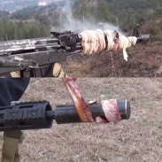 Which platform performs better when it comes to cooking bacon, the M16 or AK47? We'll let you decide.