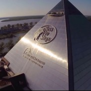 Bass Pro Shops now has its very own monument. At 32 stories tall, this superstore is the sixth largest pyramid in the world.