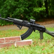The AK (seen here) and SKS are two popular Combloc rifles in the United States. But if you're trying to decide between one or the other, which should you buy? Read on to find out.