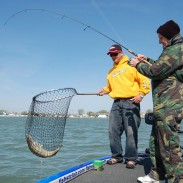 The Detroit River is one of the nation's top spring hot spots for walleye.