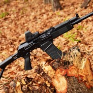 The Vepr 12 is a semiautomatic 12 gauge shotgun that feeds from detachable box magazines. Though it might look like a Saiga 12 at first glance, there are several important differences between the two.