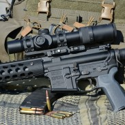 The U.S. Optics SR-8C is a solid optic that bridges the gap between red dots and high-magnification scopes.