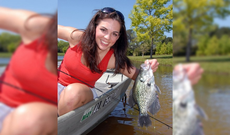 Build semi permanent beds for crappie fishing success for Crappie fishing in ky