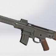 A new modernized version of the StG 44 is currently in the works.