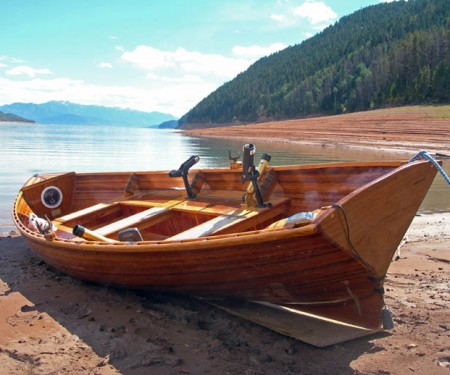 Never mistake a cedar boat's beauty for frailty.