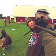 Archery tag combines the rules of dodgeball with the high octane action of a paintball match.