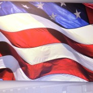 Proudly American Flag