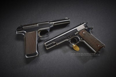 Peer into the History of the 1911 Pistol at the NRA National Firearms Museum