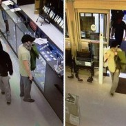 A gun and cash heist went awry for these thieves when they were confronted with a good guy with a gun.