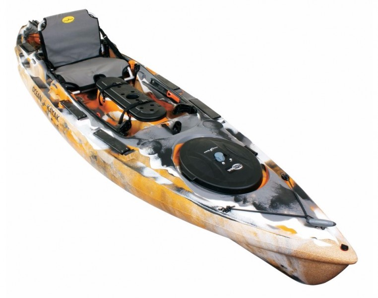 The best kayaks for anglers outdoorhub for Best fishing kayak under 600