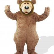"""The man's bear suit is described as """"realistic,"""" probably more so than this one."""