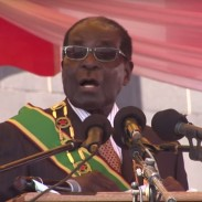 Zimbabwe President Robert Mugabe addressed a crowd earlier this week, stating that he stopped hunting at a young age and believed that killing wild animals is a sin.