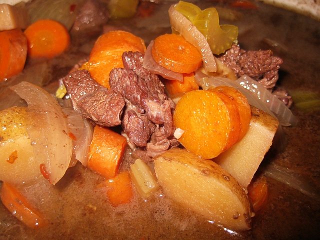 how to cook deer stew meat