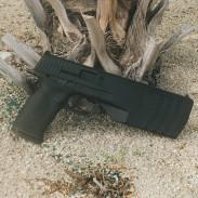 SilencerCo's new Maxim 9 pistol.