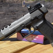 """The TP9SFX's combination of competition-gun features and a low price point could make it a """"people's race gun."""""""