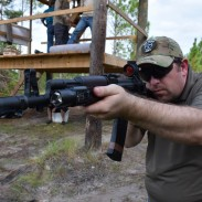 Scot of RS Regulate with his custom AK-74 and RS' new Trijicon MRO mount. The AKMT mount allows a user to easily attach one of the new dots in a low-profile position.