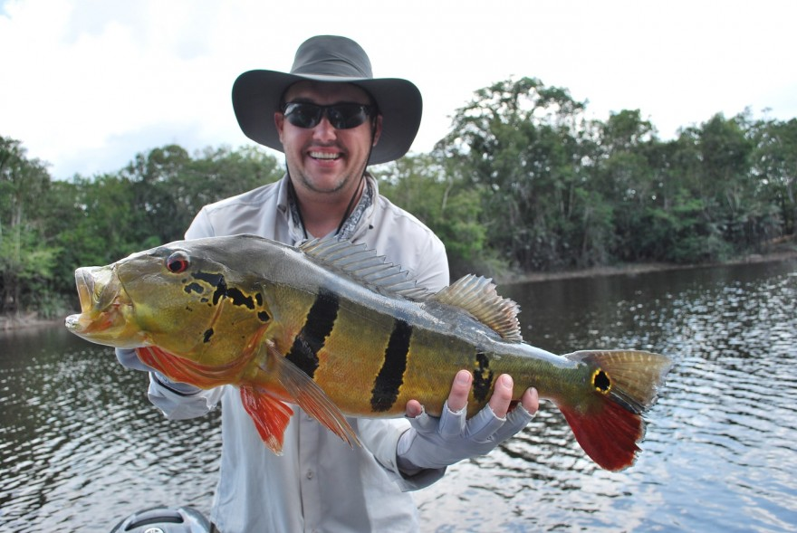 6 things i learned from fishing the amazon outdoorhub for Bass fishing in the rain