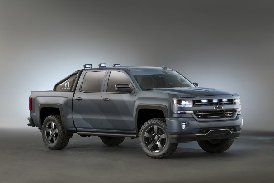 What Does R Trucks Think About This 2016 Chevrolet Silverado Special Ops Edition Concept