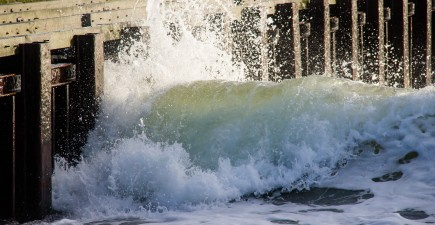 Ever seen a sneaker wave in action? They can occur suddenly and without warning.