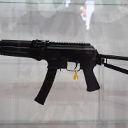 An SBR variant of Kalashnikov USA's 9x19mm AK.
