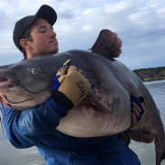 Zakk Royce broke the North Carolina state record for blue catfish twice in the span of just two days.