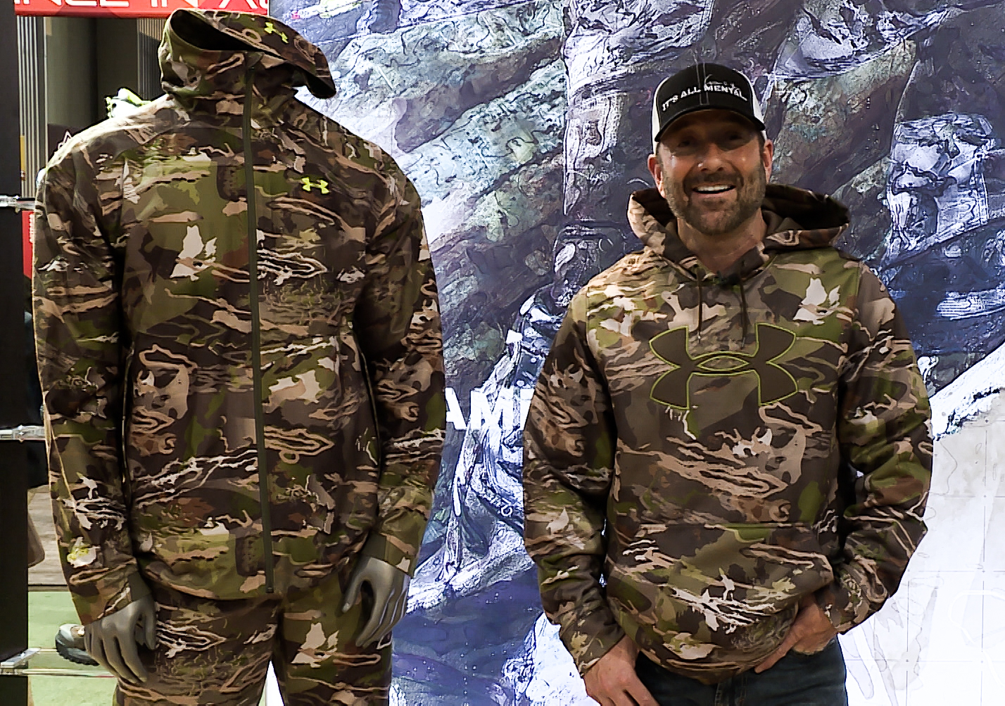 Talking Under Armour S New Camo With Cameron Hanes