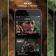 The CarbonTV iOS app allows users to enjoy all of their favorite outdoor programming from wherever they choose.